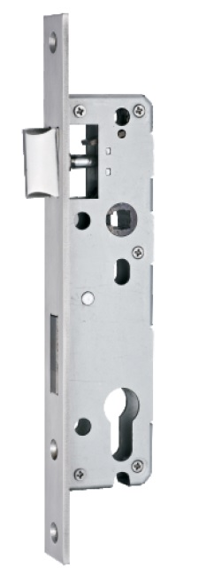 Euro Mortise Lock Body - Narrow Lock