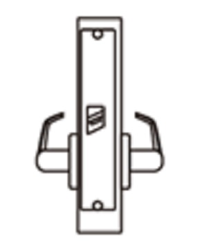 ANSI Commercial Mortise Lock - Passage Lock 通道鎖