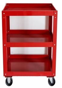 Three Shelves Tool Trolley Cart