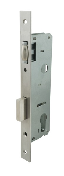 Euro Narrow Mortise Lock Body (Lock Case)