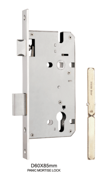 Panic Exit Euro Mortise Lock Body