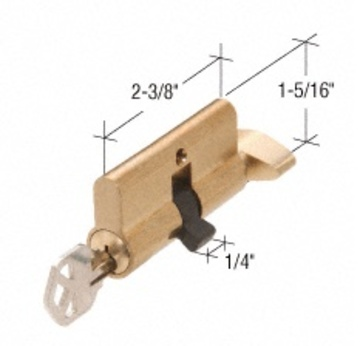 Euro Profile Single Cylinder - (Kwikset/Yale Keyway)